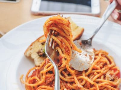 Marathon runners love to carbo load.