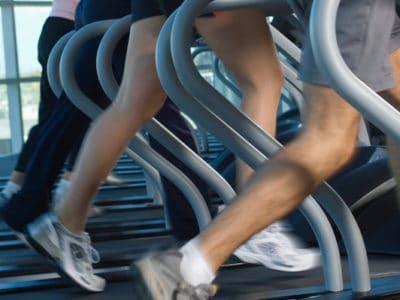 You can train for a marathon on a treadmill.