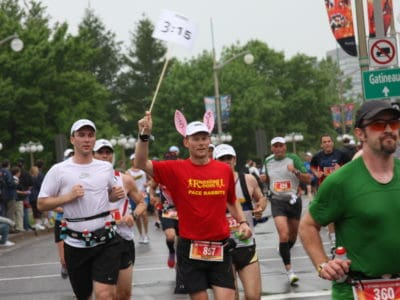 Some marathon runners will benefit from using a pacer.