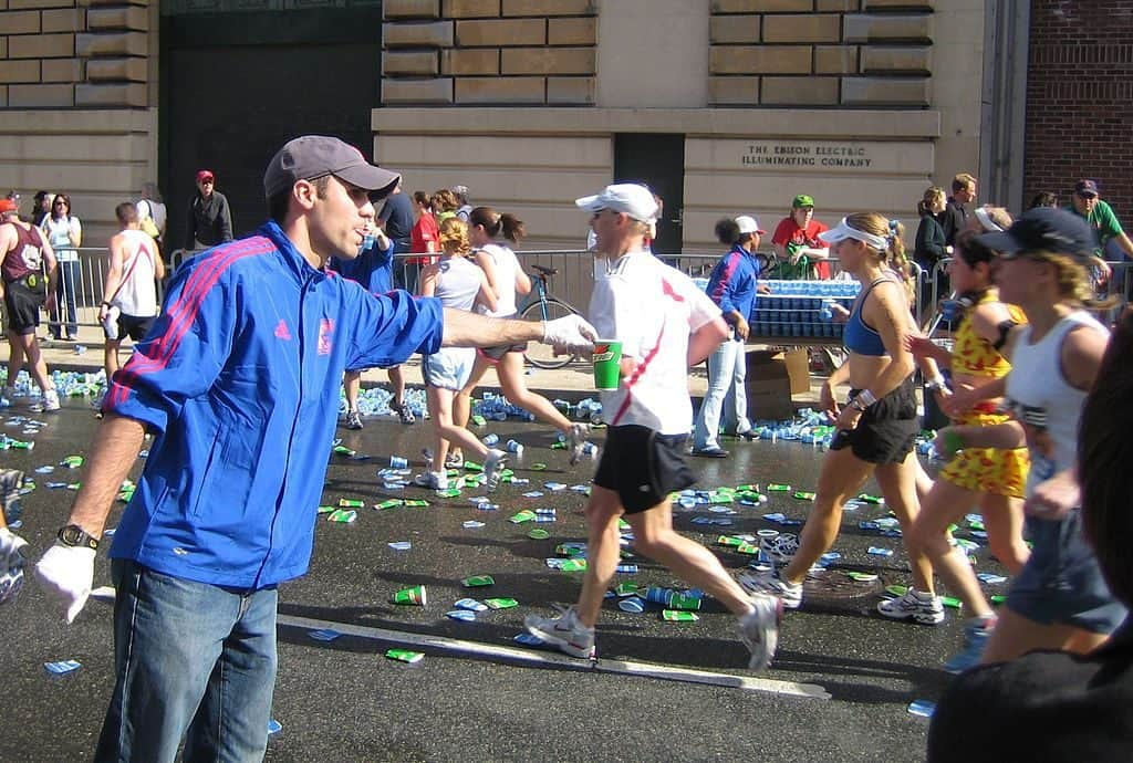 Hyponatremia and Dehydration can be dangerous in marathons.