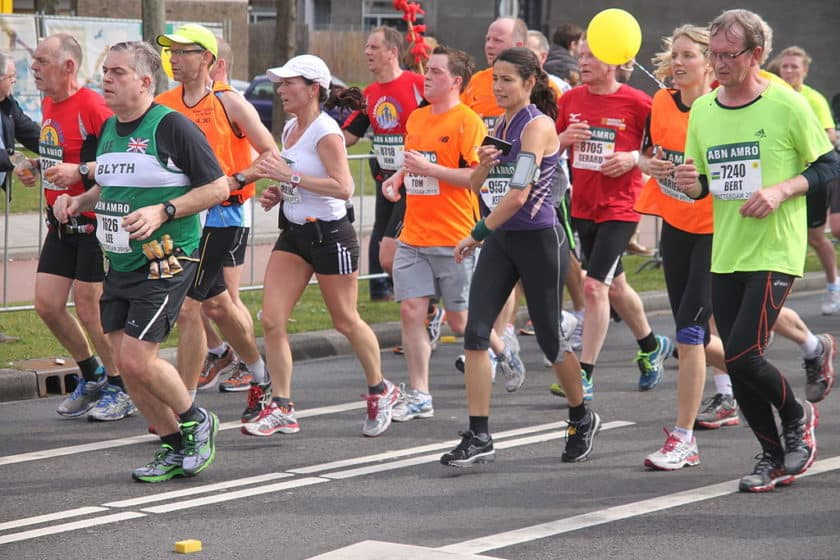 Runners of all body types can run a marathon.