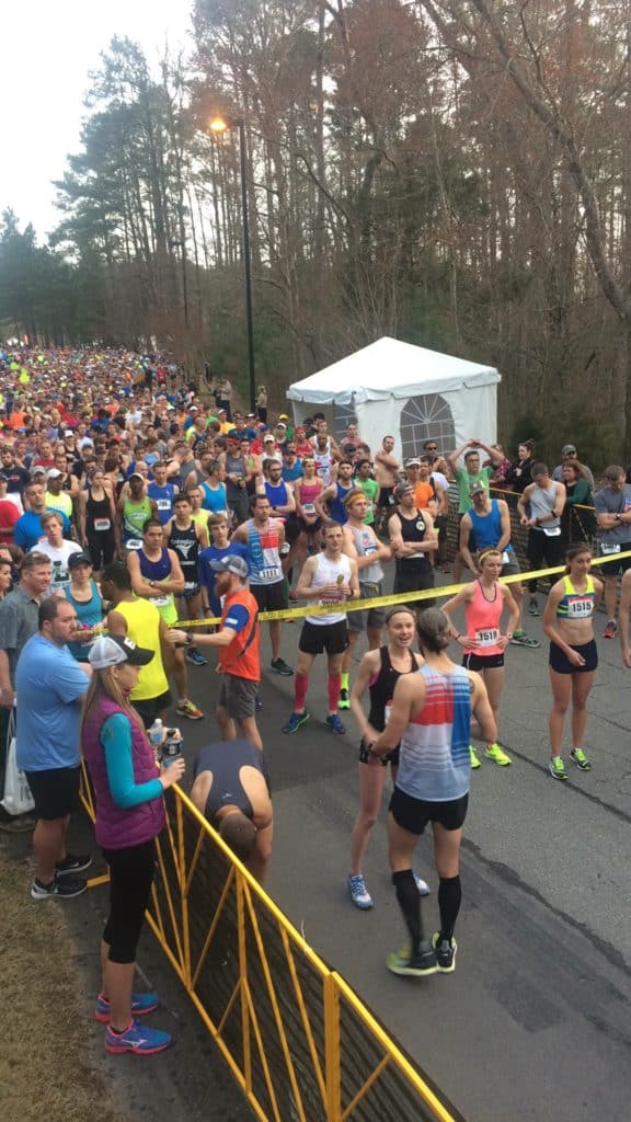Tobacco Marathon corral start