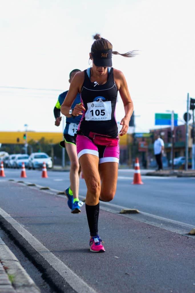 Marathon running is hard but it's not usually dangerous