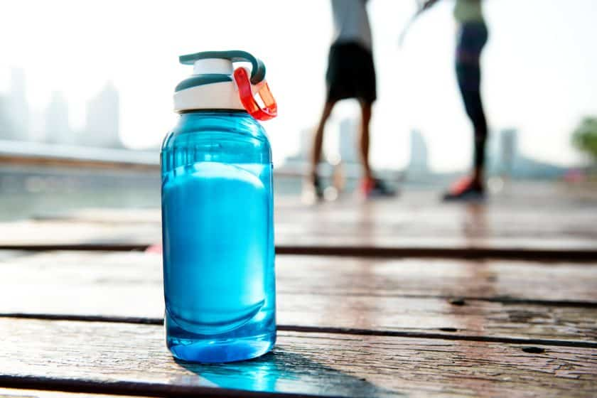 Whether you bring your own or not, water is important in a marathon.