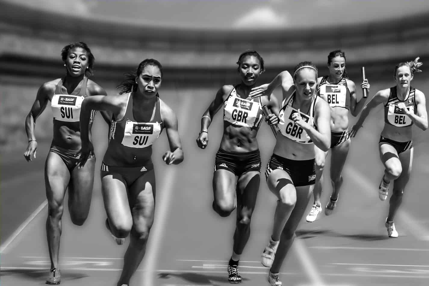 Many people are familiar with a track relay